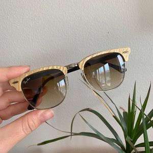 Authentic Ray Ban pearl detail sunglasses